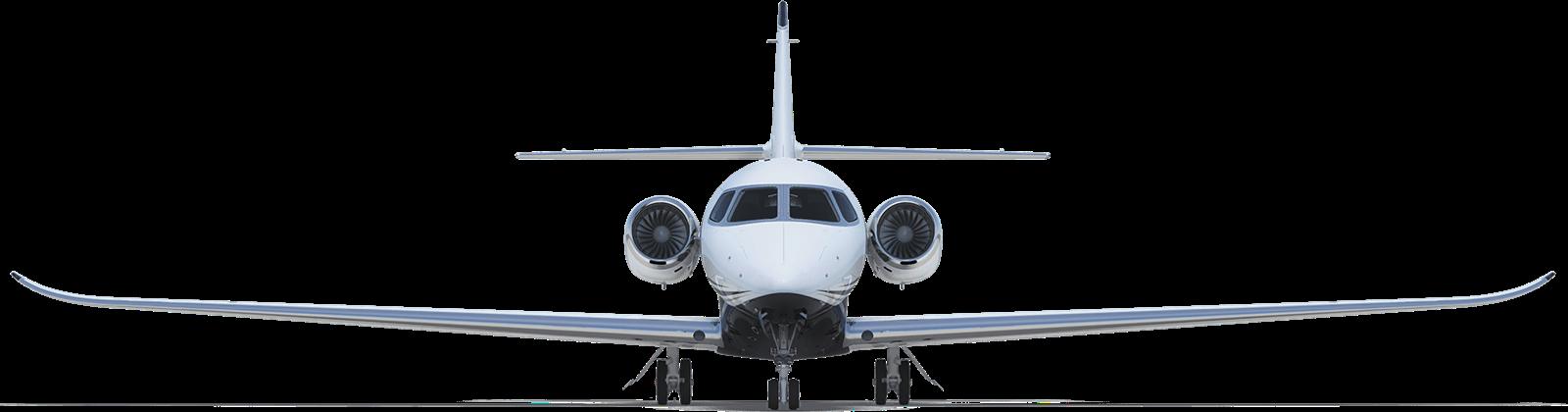 Midsize jet front