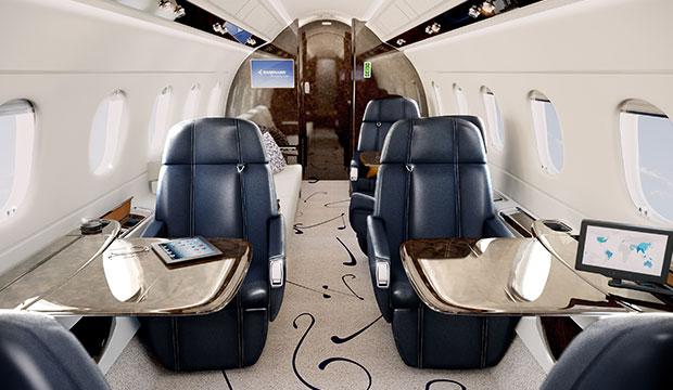 Embraer 500 interior