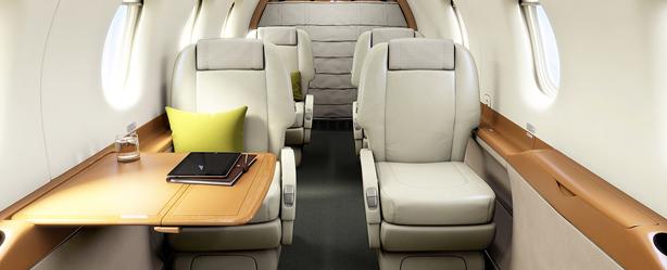 pilatus PC-12NG interior