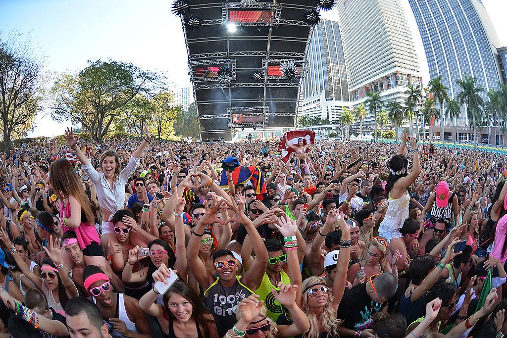 Ultra Music Festival Private Jet Charter