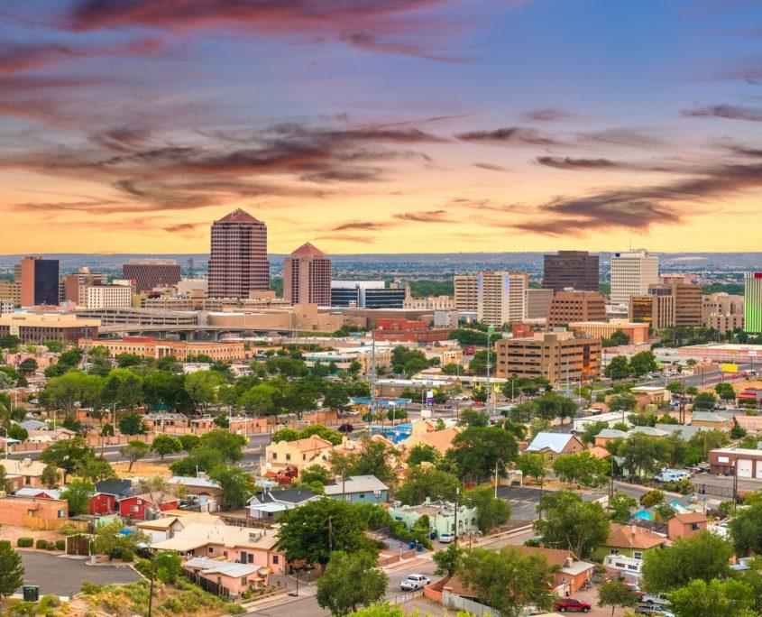 Albuquerque Private Jet Charter