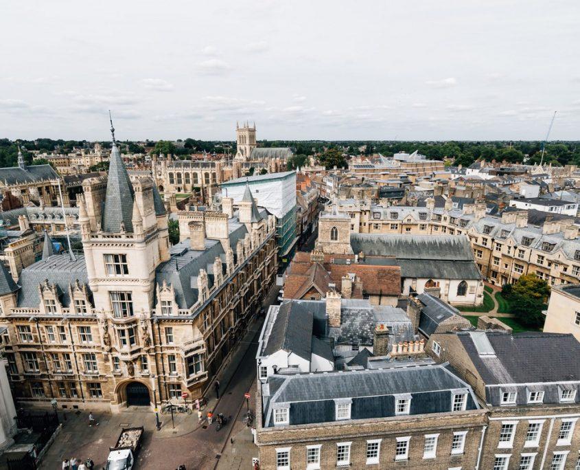Cambridge, UK Private Jet Charter