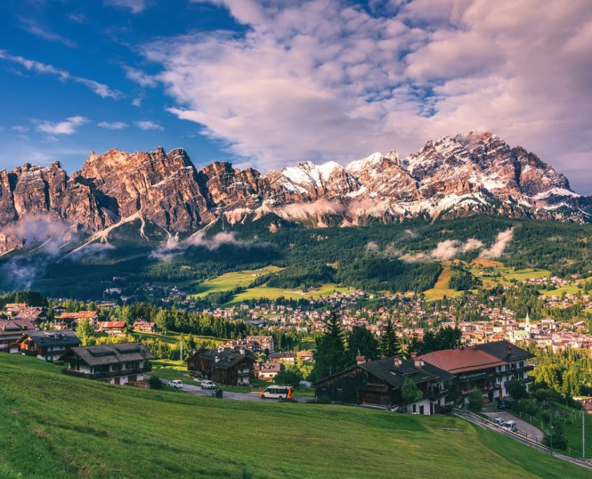 Cortina D'Ampezzo Private Jet And Air Charter Flights