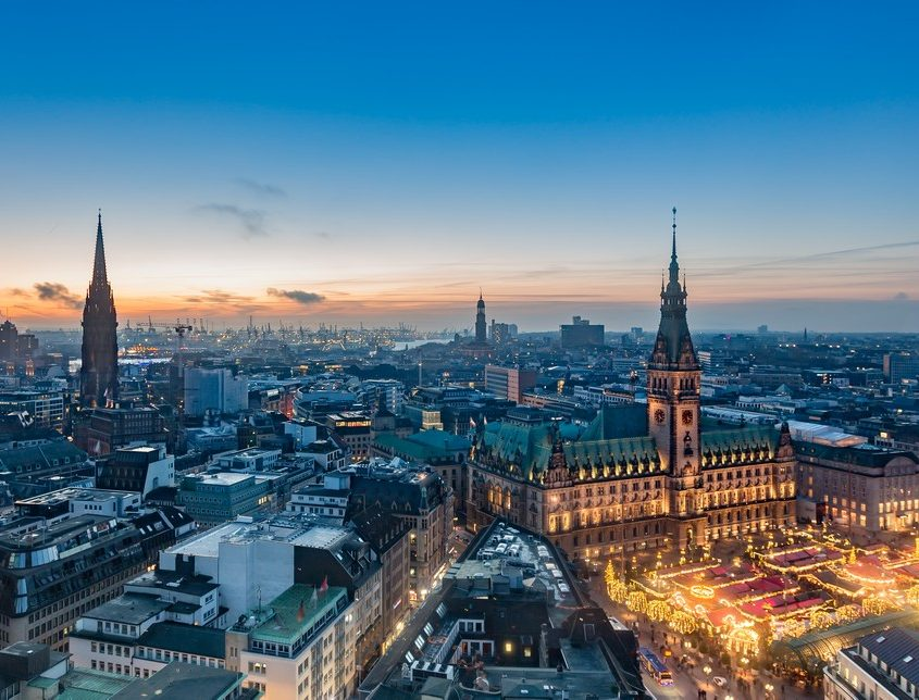Hamburg, Germany Private Jet Charter