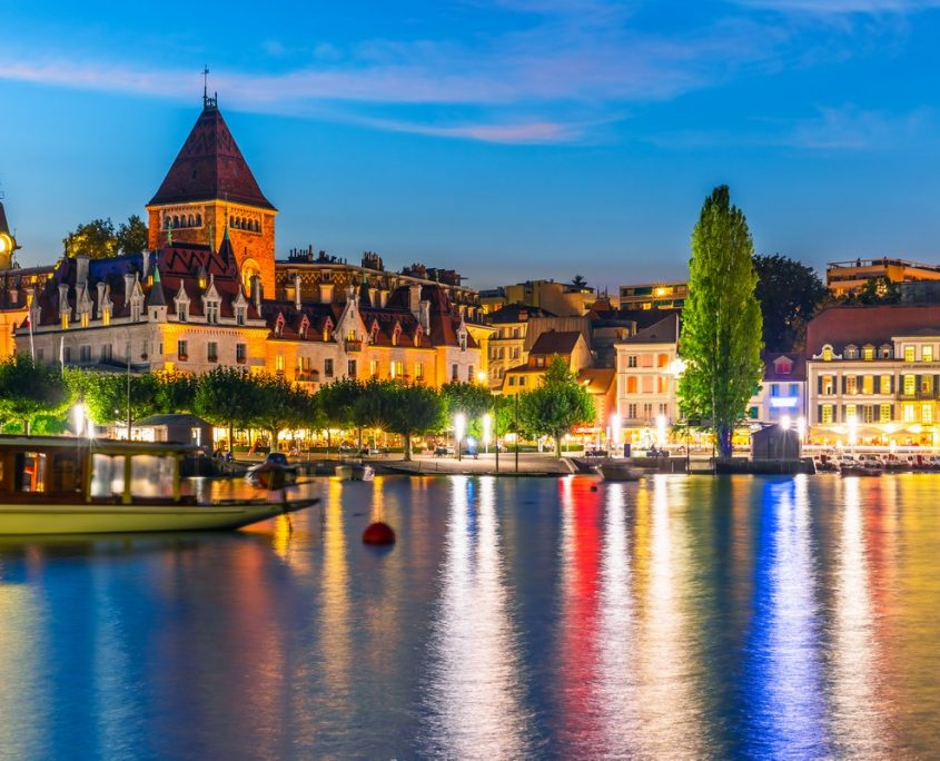 Lausanne, Switzerland Private Jet Charter