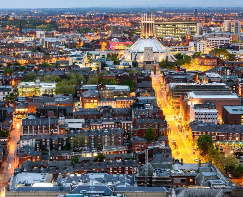 Liverpool, UK Private Jet Charter