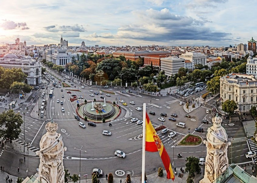Madrid, Spain Private Jet Charter