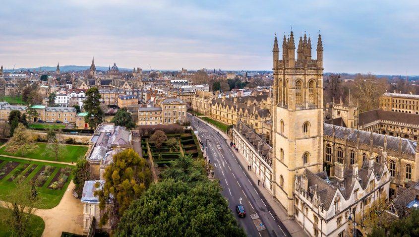 Oxford, UK Private Jet Charter