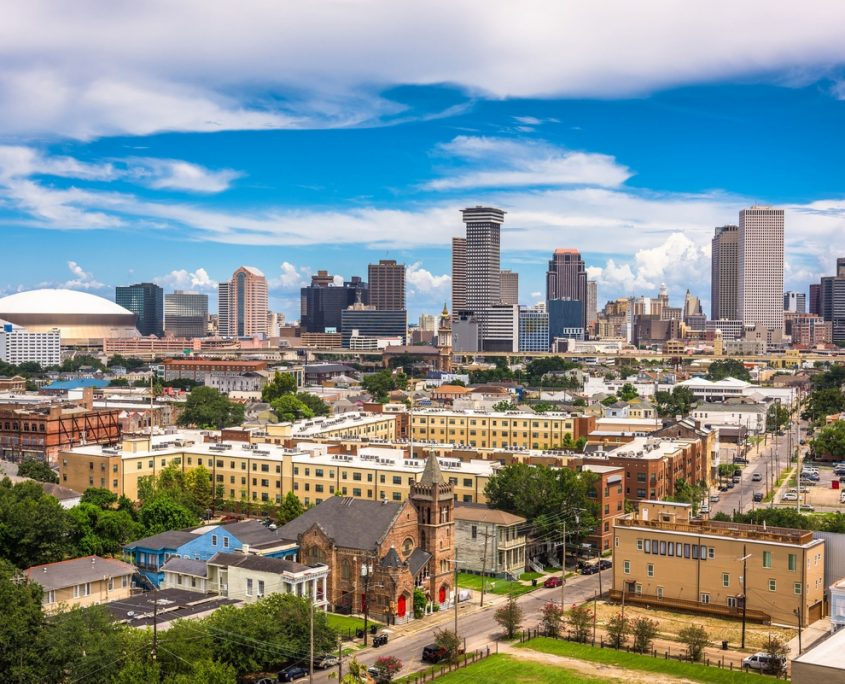 New Orleans Private Jet Charter