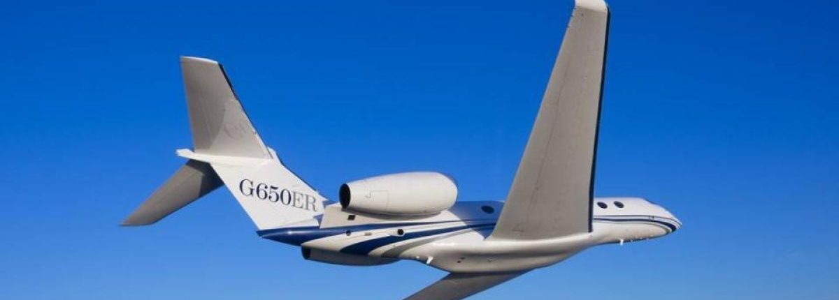 exterior Gulfstream G 650 ER
